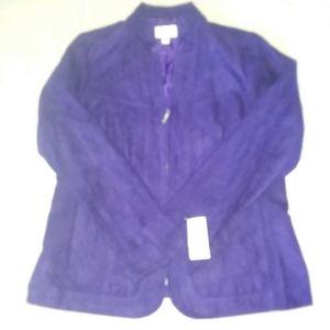 Studio works purple jacket
